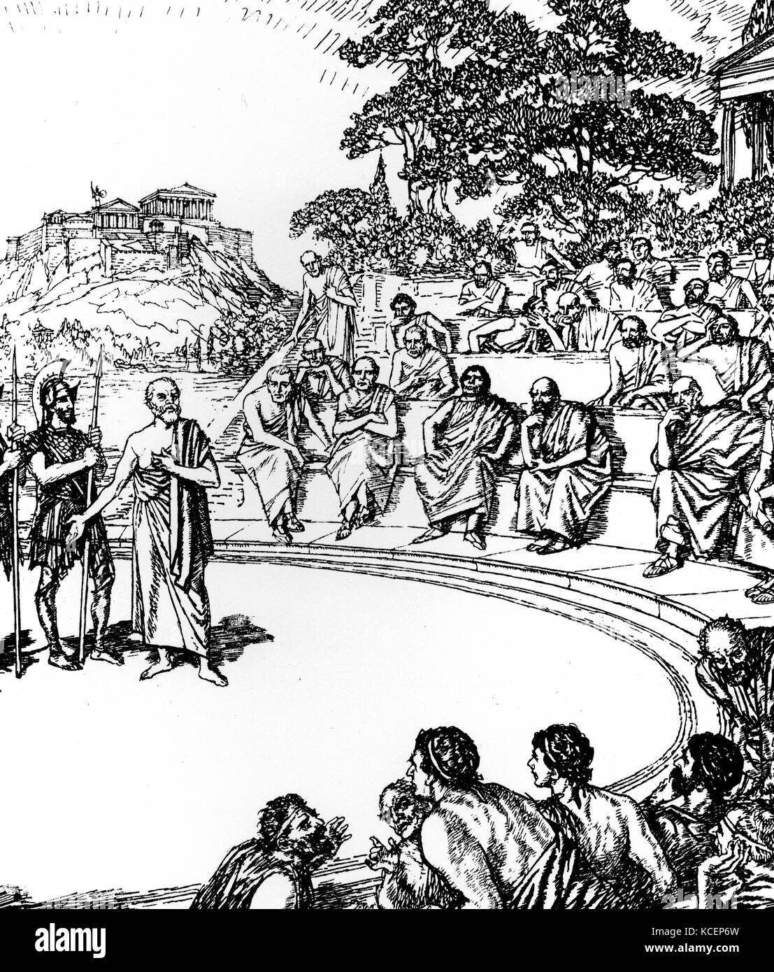 an analysis of the unjust execution of socrates a greek philosopher Corrupting of youth, allowing them to question authority not respecting traditional gods introducing new gods he was ugly so people thought he was evil socrates life: 469bc- 399bc born: 469 bc birthplace: athens, greece died: 399 bc (execution by poison) best known as: the great greek philosopher who drank hemlock socrates is the.