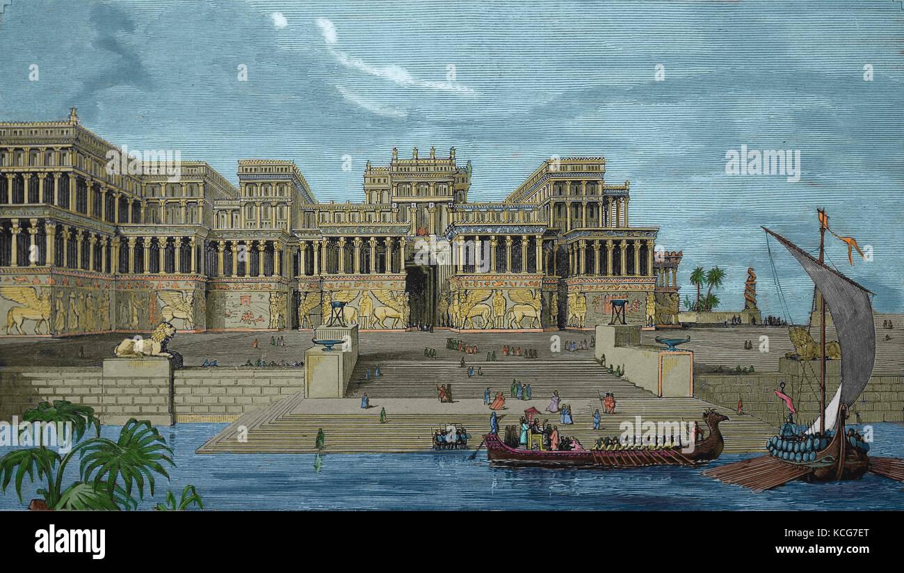 Ancient Mesopotamia Art Stock Photos & Ancient Mesopotamia ...
