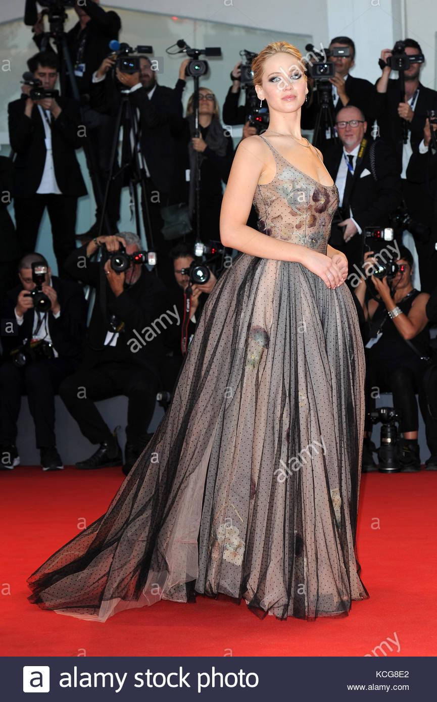 Jennifer Lawrence venezia 05-09-2017 - Stock Image