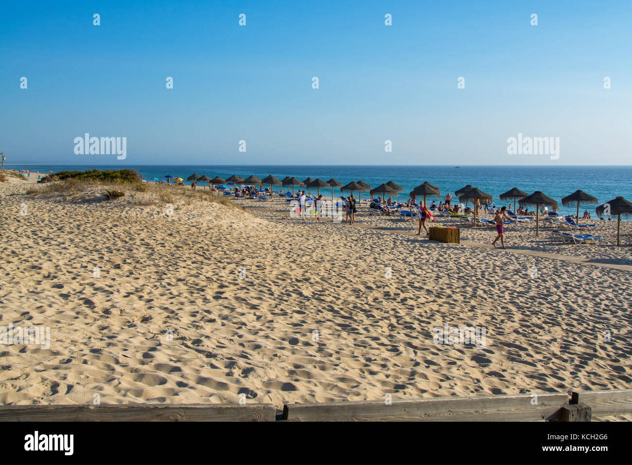 Alentejo Portugal. 06 September 2017.Comporta beach in Alentejo, Portugal. photography by Ricardo Rocha. - Stock Image