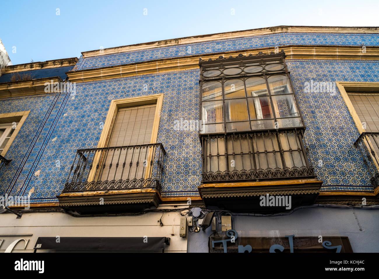 Azulejos andalusia stock photos azulejos andalusia stock for Azulejos jerez de la frontera