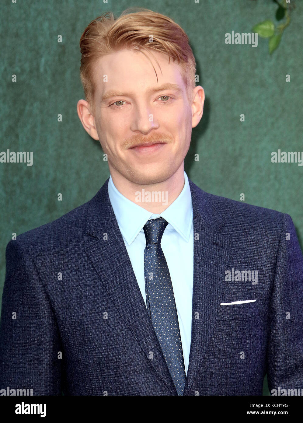 Sep 06, 2017 - Domhnall Gleeson attending 'Mother!' UK Premiere, Odeon Leicester Square in London, England, - Stock Image