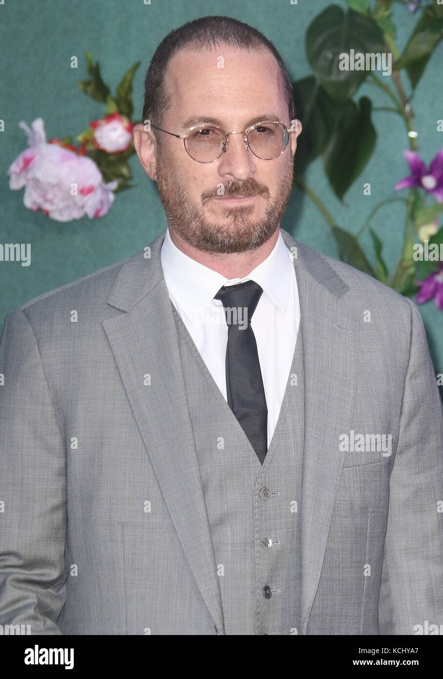 Sep 06, 2017 - Darren Aronofsky attending 'Mother!' UK Premiere, Odeon Leicester Square in London, England, - Stock Image