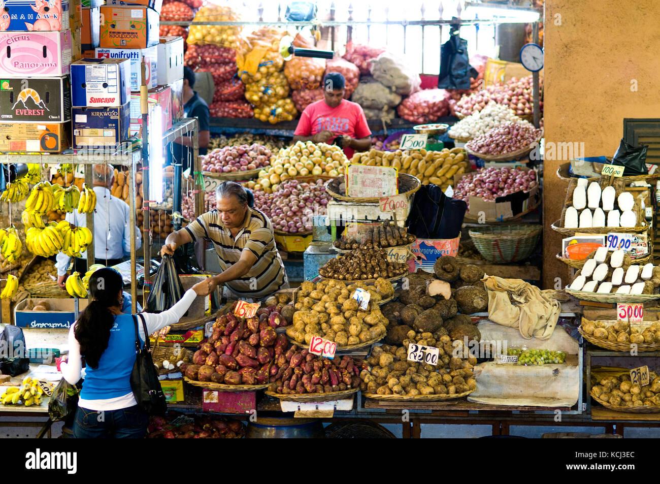 Central port louis stock photos central port louis stock images alamy - Mauritius market port louis ...