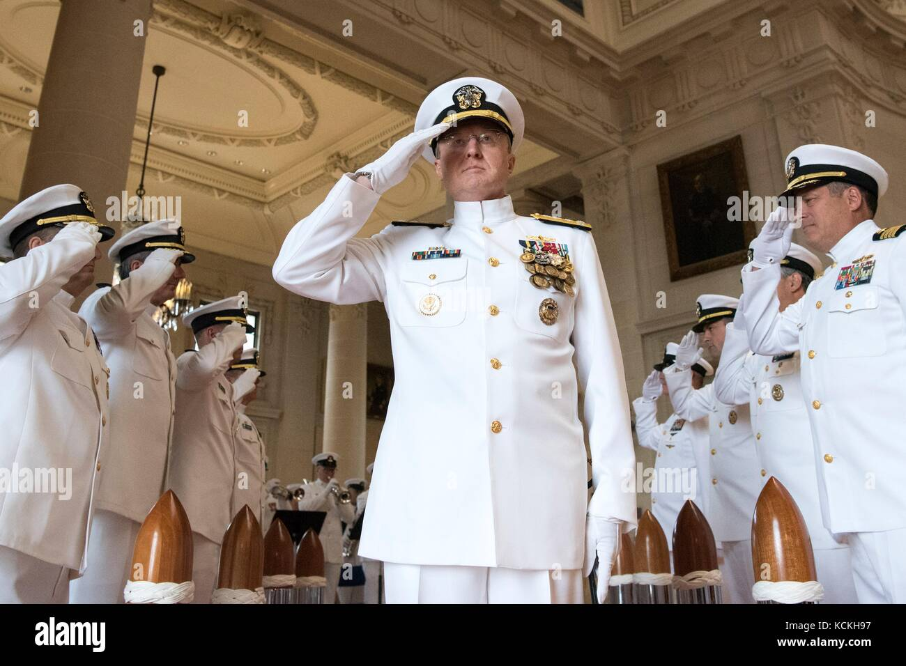 Military retirement ceremony stock photos military for Chair joint chiefs of staff