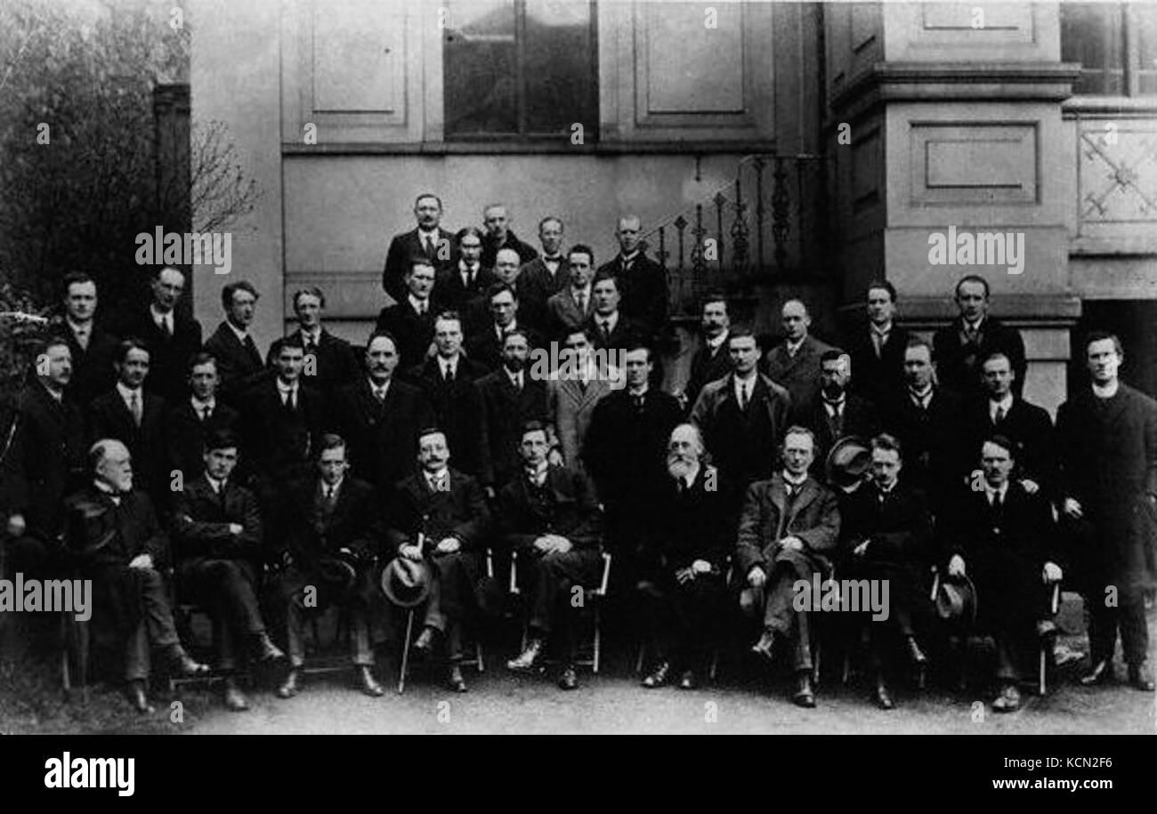 First dail eireann 1919 - Stock Image
