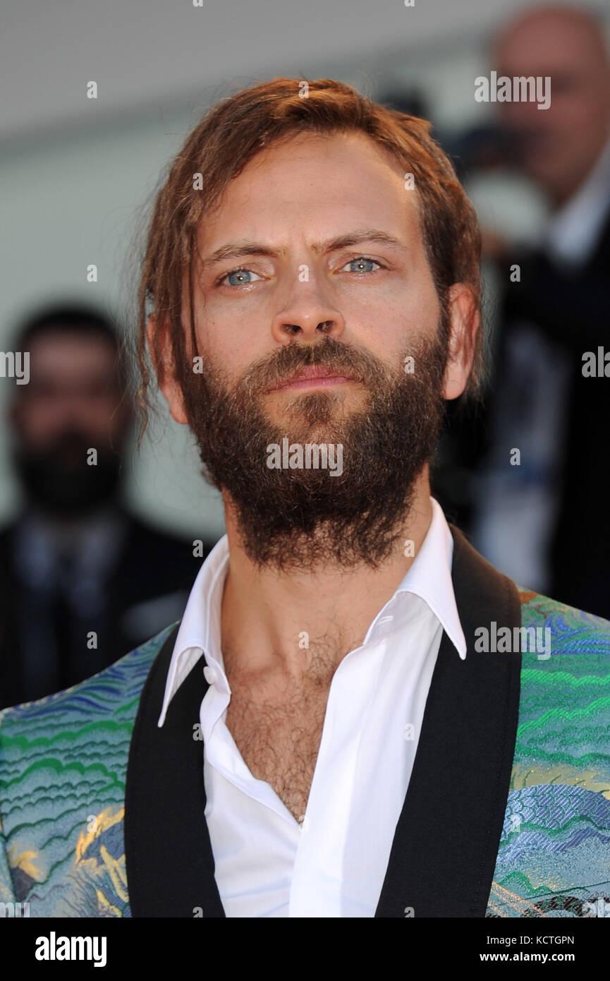 74th Venice Film Festival - 'Mother!' - Premiere  Featuring: Alessandro Borghi Where: Venice, Italy When: 05 - Stock Image