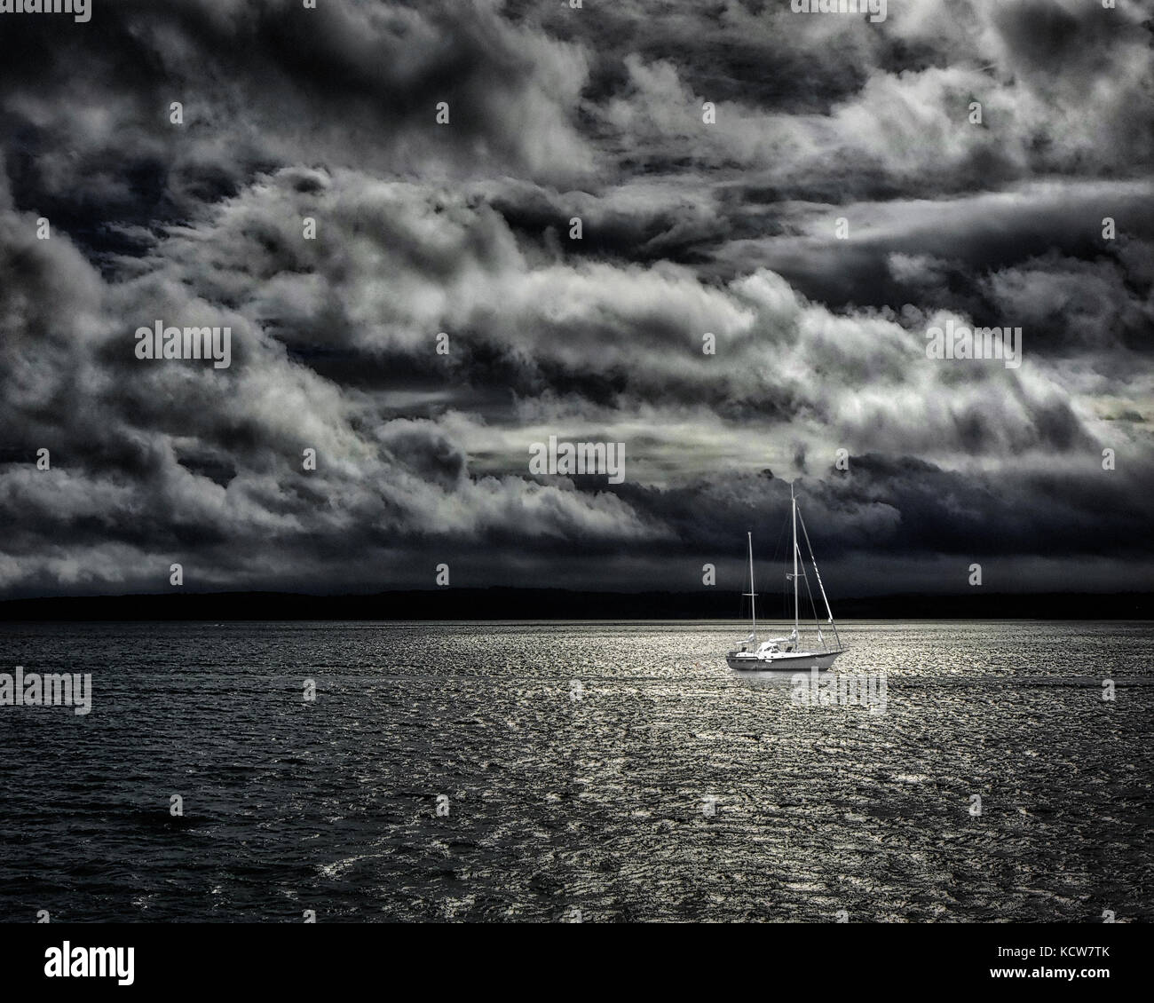 GB - DEVON (Torbay): Dramatic Seascape - Stock Image