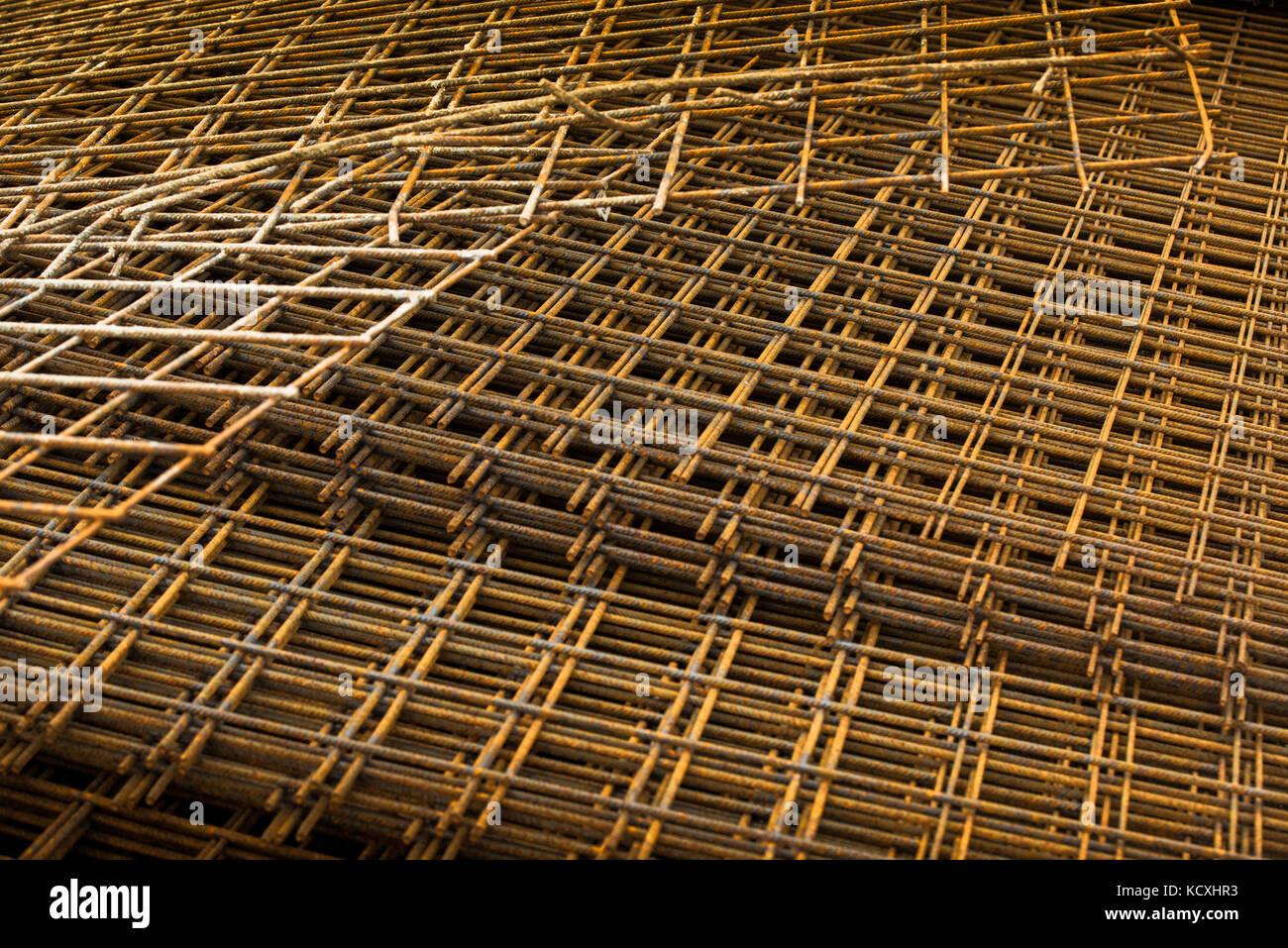 Steel Reinforcement Cage Stock Photos Amp Steel