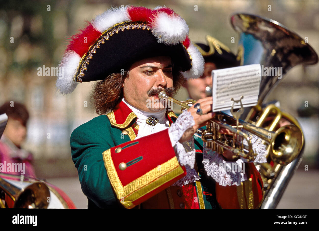 Celebration of the 300th anniversary of the city of St. Petersburg - Stock Image