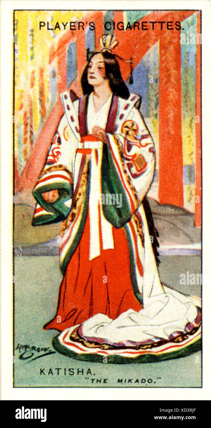 gilbert sullivan the mikado Brief history of the mikado, a comic opera by ws gilbert and arthur sullivan, plus links to all cast albums and sheet music currently in print.