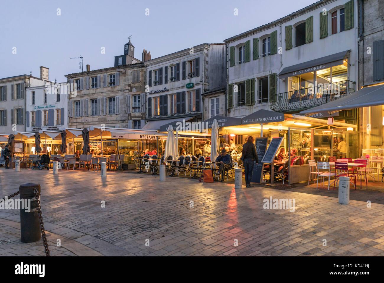 La flotte stock photos la flotte stock images alamy - Restaurants port la nouvelle ...