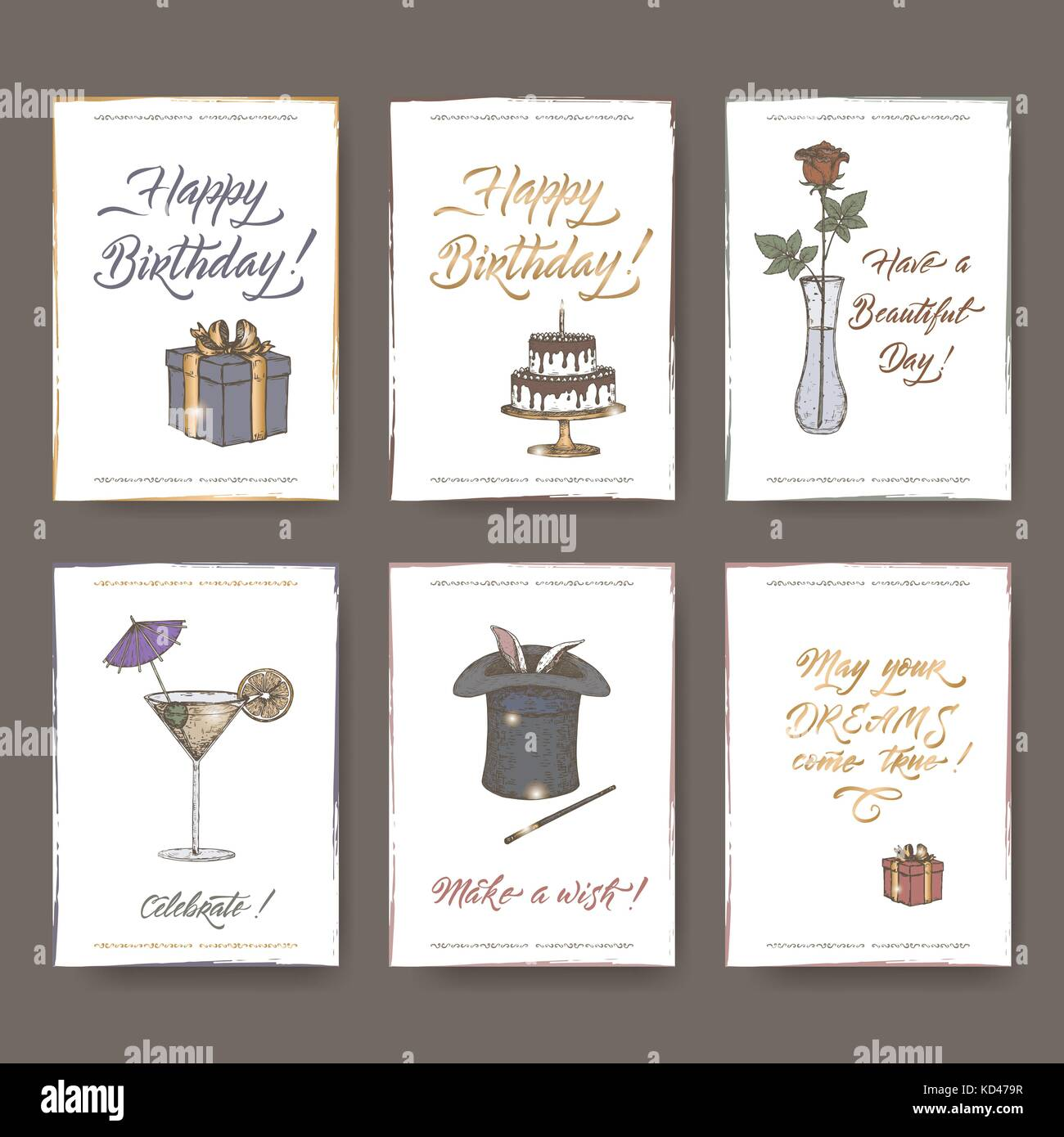 dating old letter cards