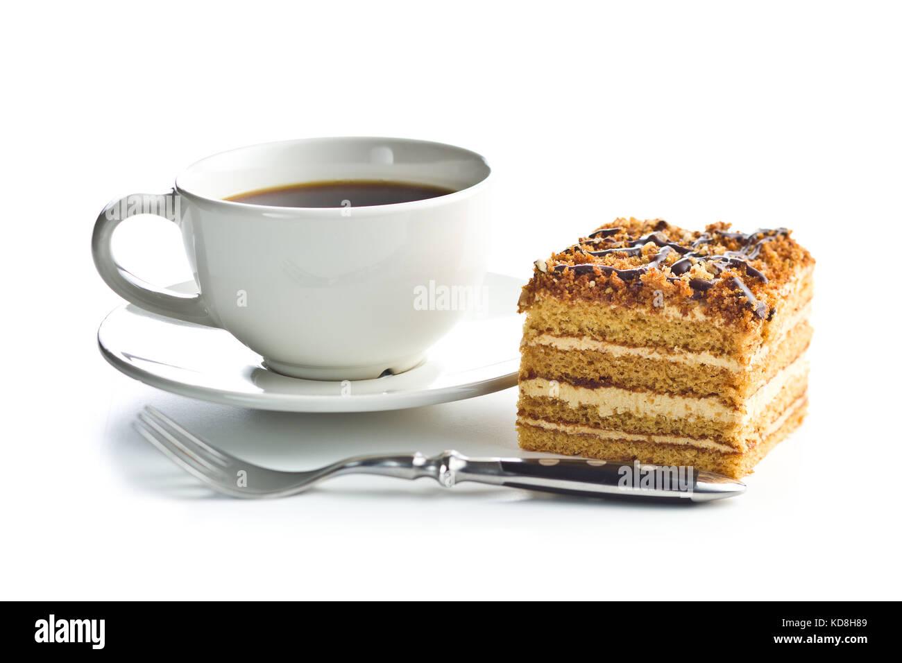 Chocolate Honey Sponge Roll Cake