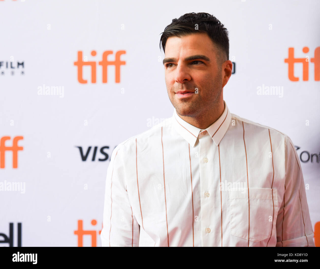 42nd Toronto International Film Festival - 'Who We Are Now' - Premiere  Featuring: Zachary Quinto Where: Toronto, Stock Photo