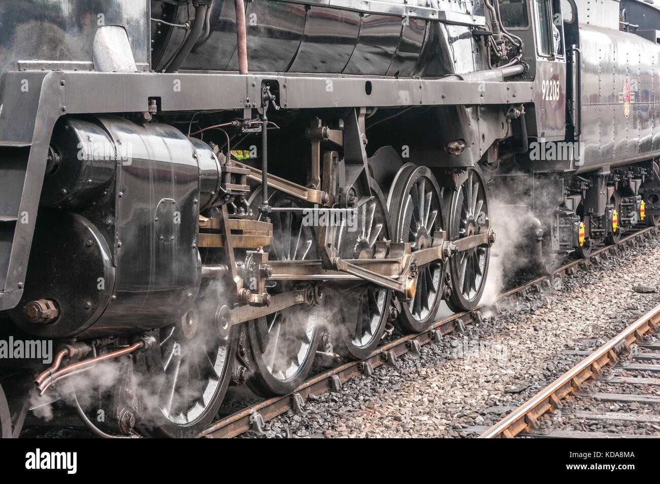 how to drive a train engine
