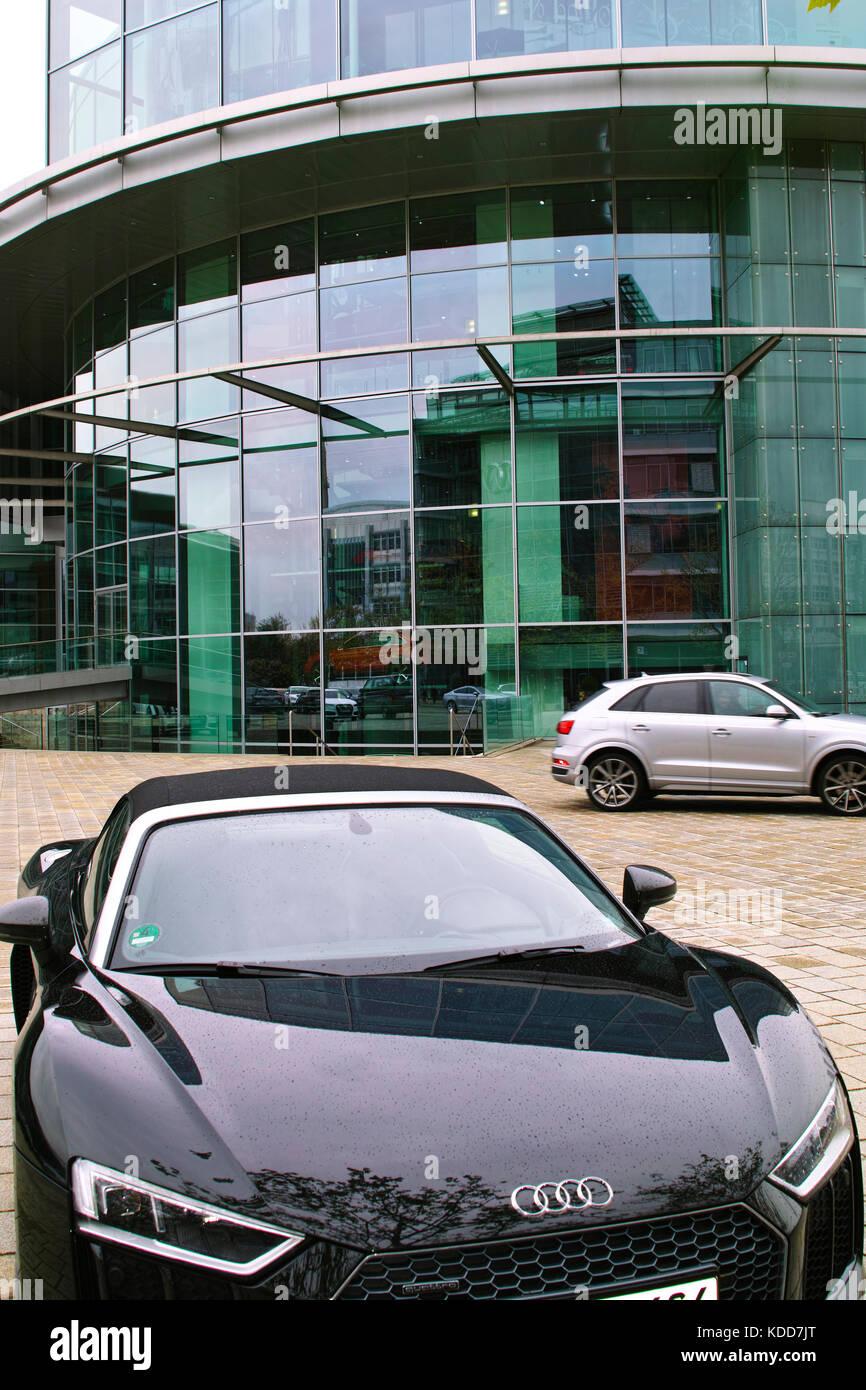 Audi Museum Ingolstadt Stock Photos Amp Audi Museum