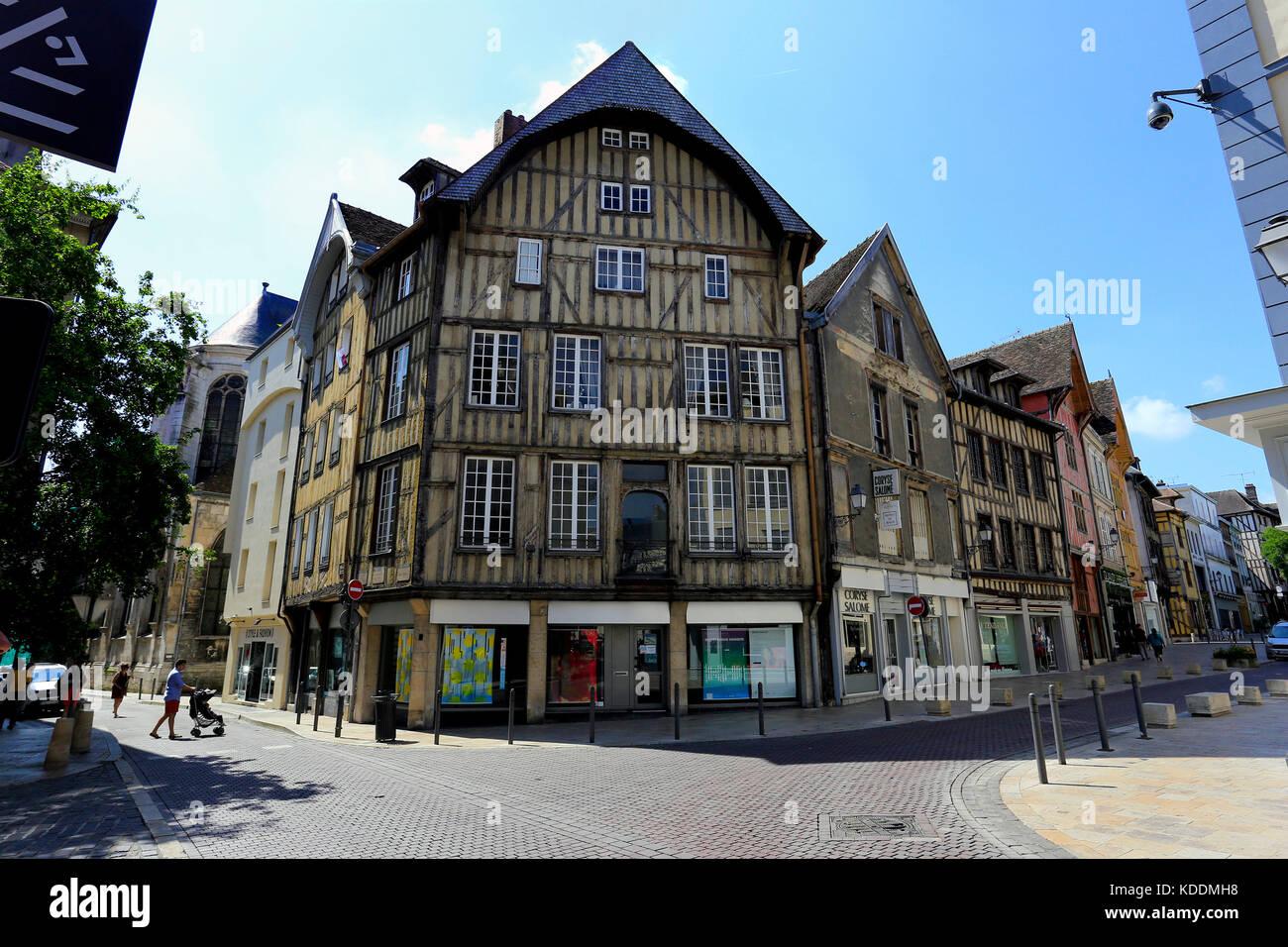 Troyes, France - Stock Image