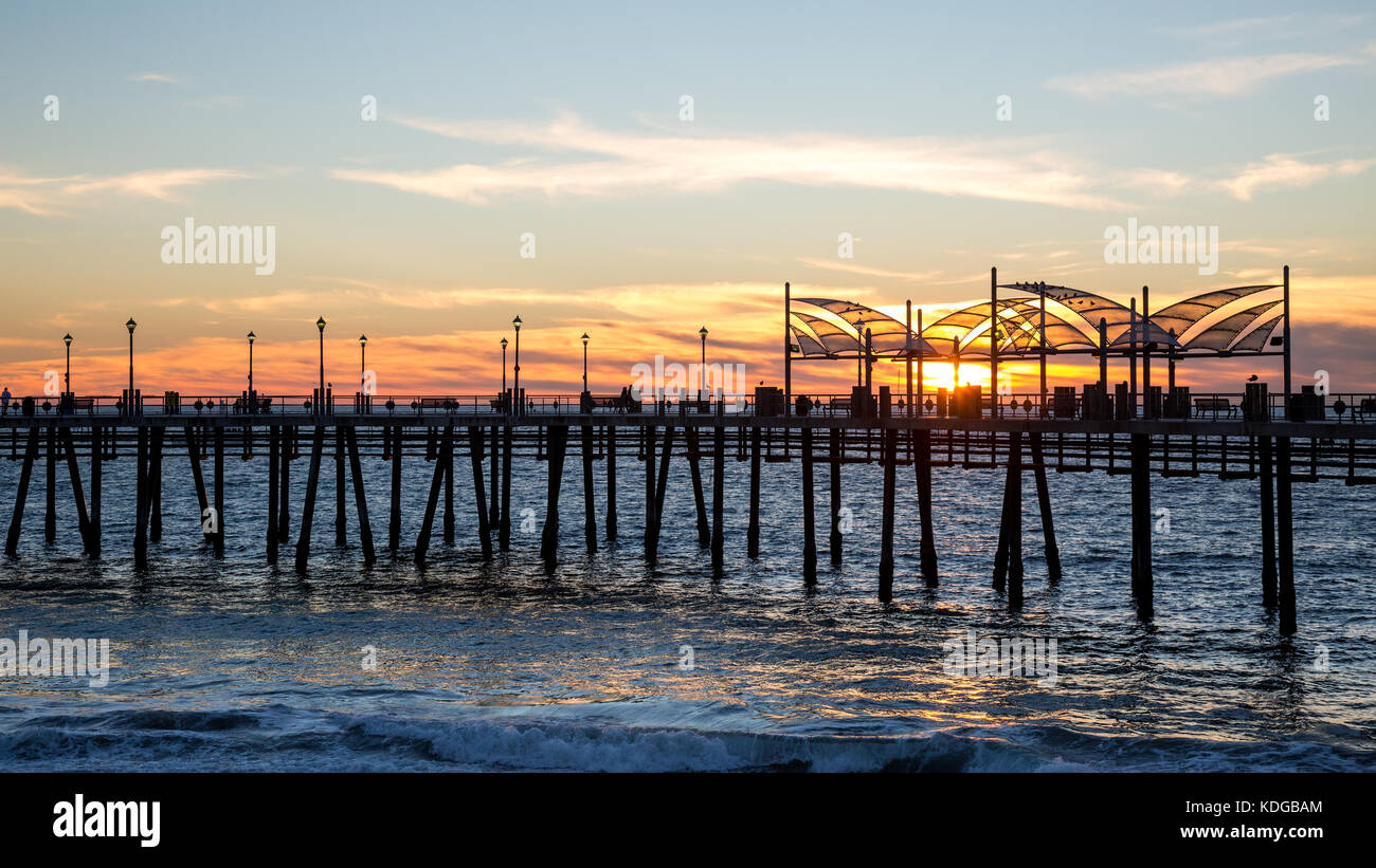 Redondo beach california stock photos redondo beach for Redondo beach pier fishing