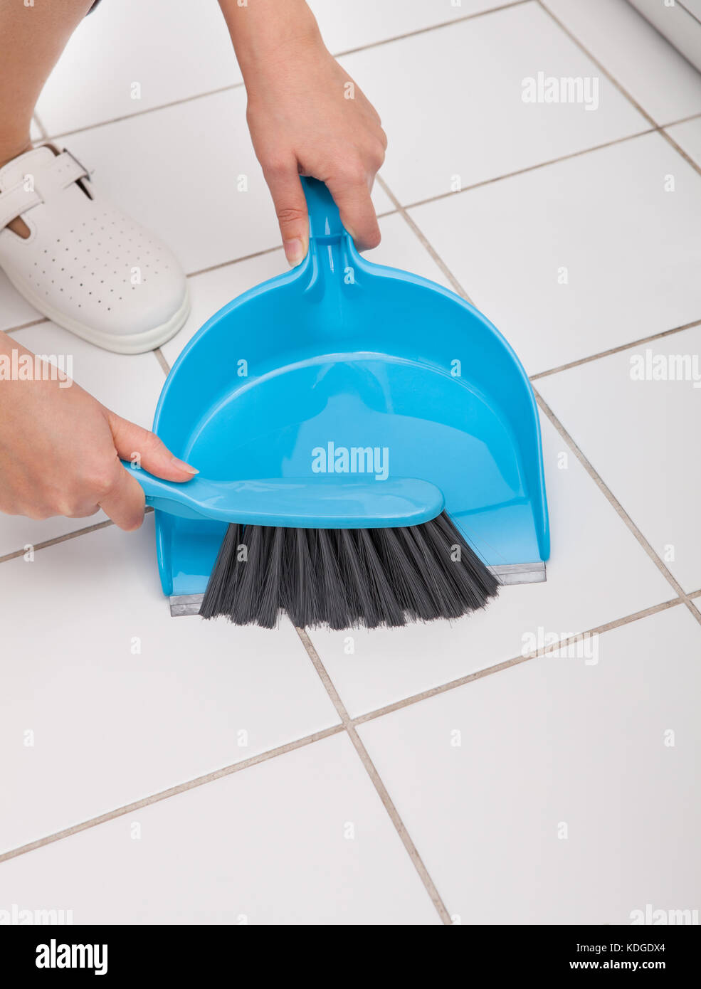 scoop for cleaning stock photos
