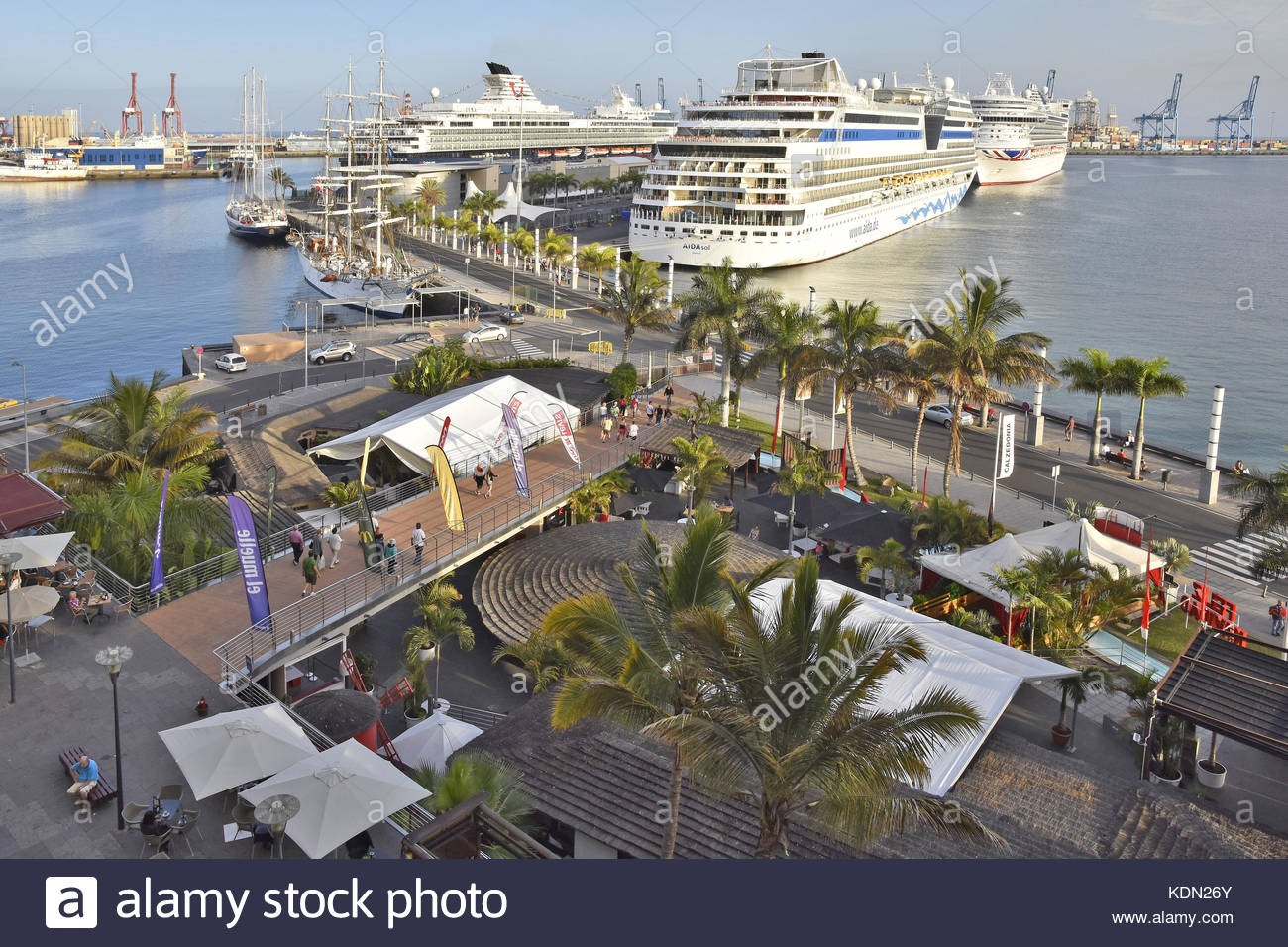 Las palmas gran canaria stock photos las palmas gran canaria stock images alamy - Port of las palmas gran canaria ...