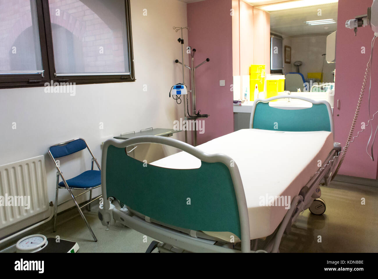 Paris, France, inside French Public Hospital Room, Saint Louis, - Stock Image