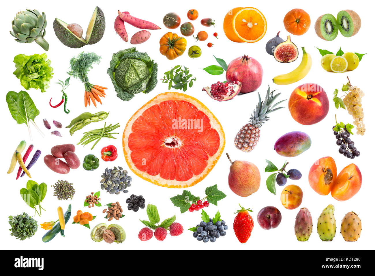 Five fruits and vegetables a day