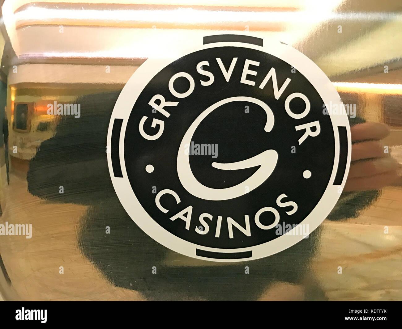 Grosvenor Casino Logo - Stock Image