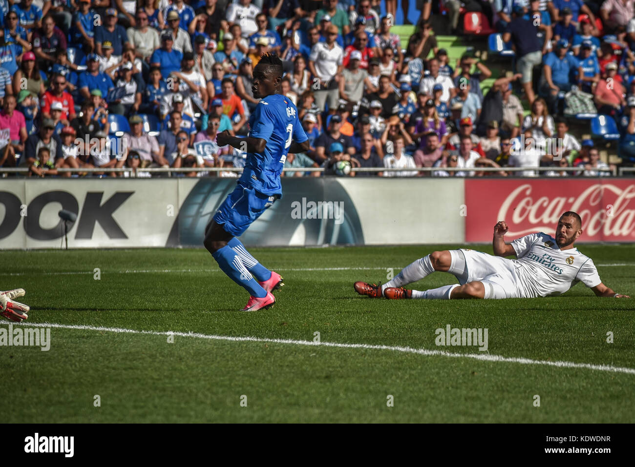 Real Madrid Vs Getafe La Liga 2013 Brilliant Second: Real Madrid Football Stock Photos & Real Madrid Football