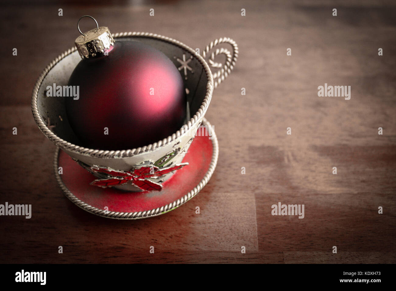Image of a cup of cheer - Stock Image