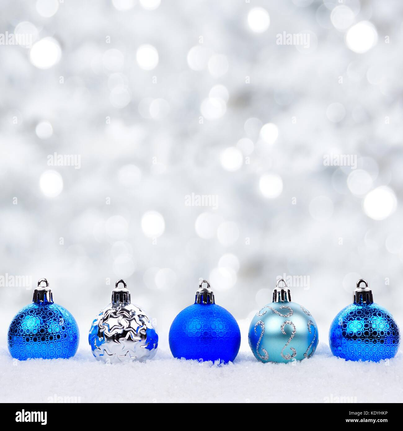 Shiny Bright Christmas Ornaments