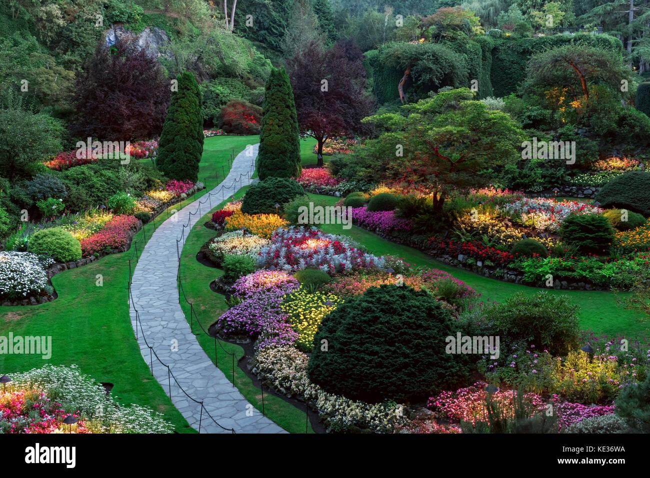 Sunken Garden Stock Photos Sunken Garden Stock Images Alamy