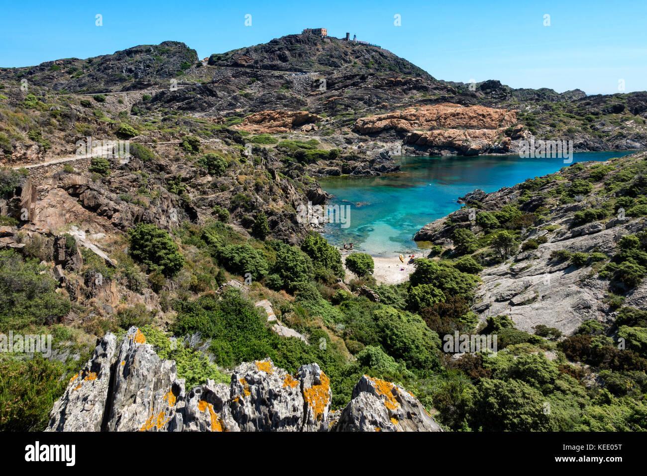 Cap de Creus Natural Park.Gerona Province.Catalunya.Spain - Stock Image