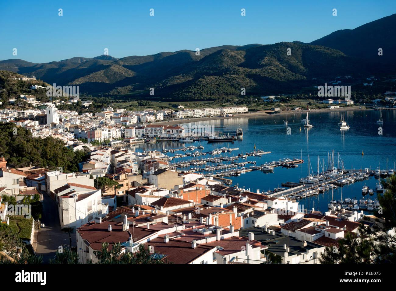 Port de la Selva.Girona.catalunya.Spain - Stock Image