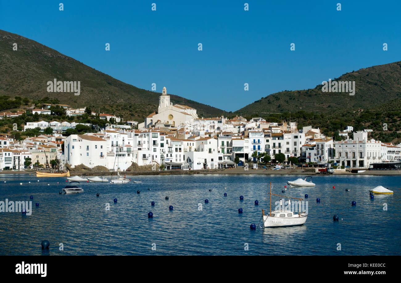 Cadaques village.Girona.Catalunya.Spain - Stock Image