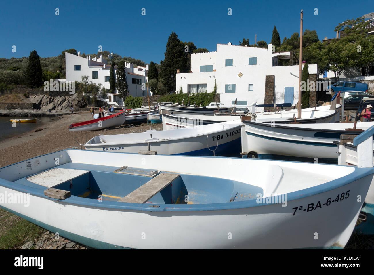 Salvador Dali house ans museum.Portlligat.Cadaqués.Girona.Spain - Stock Image