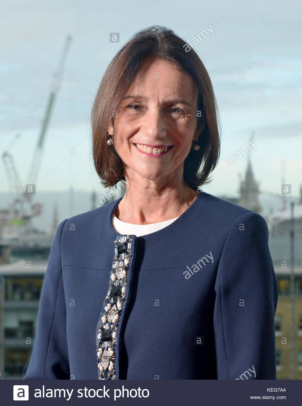 File photo dated 16/11/2015 of CBI's director-general Carolyn Fairbairn who has reacted to the limited progress - Stock Image