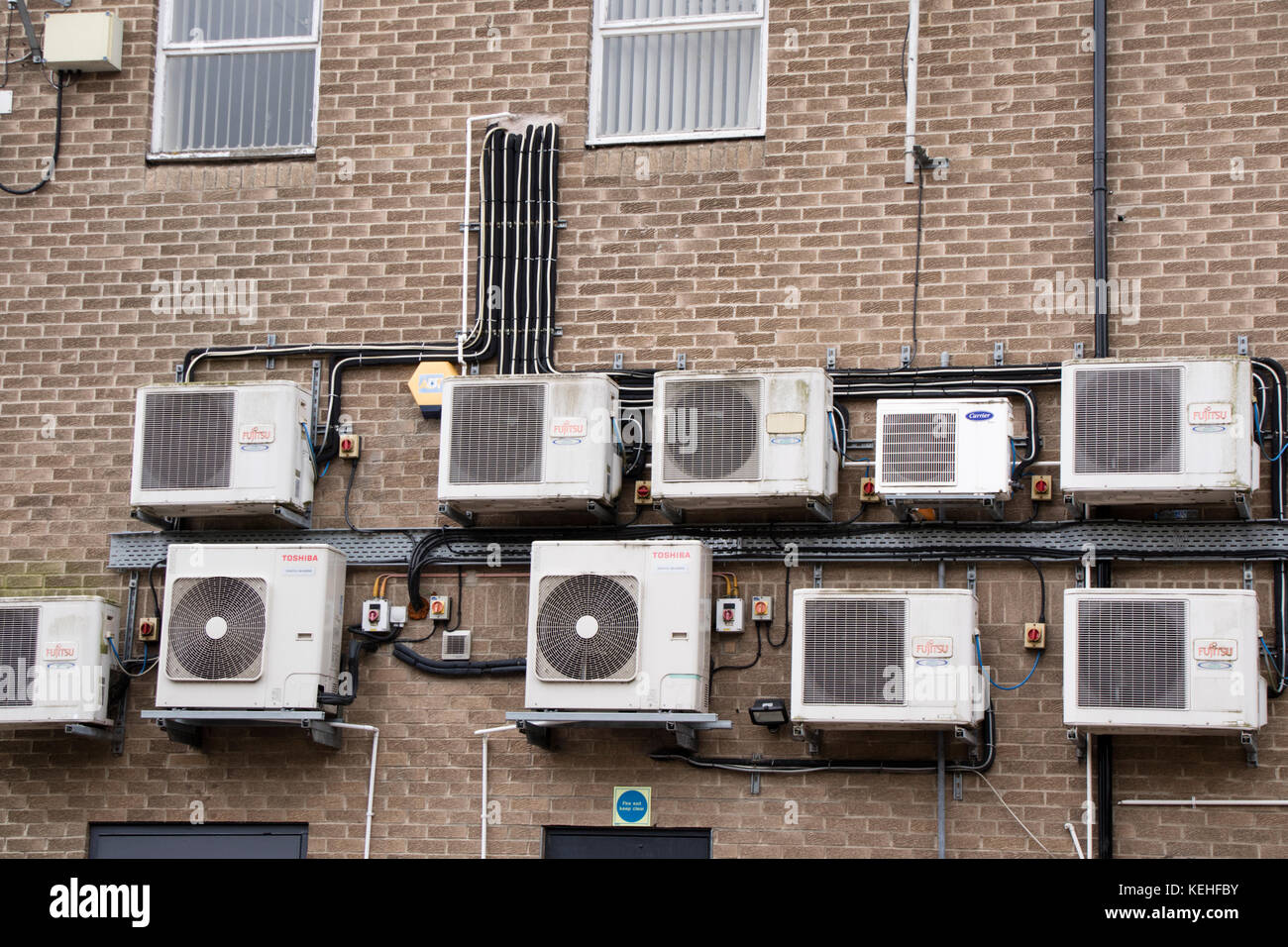 Air Conditioning Systems. - Stock Image