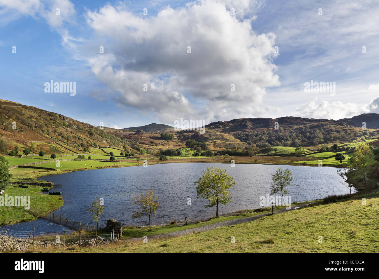 Lake District, Cumbria - Watendlath Tarn - Stock Image