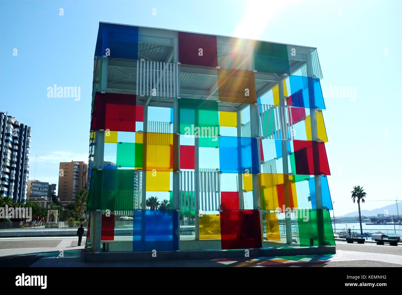 Malaga, Andalucia, Spain, September 2017 - Stock Image