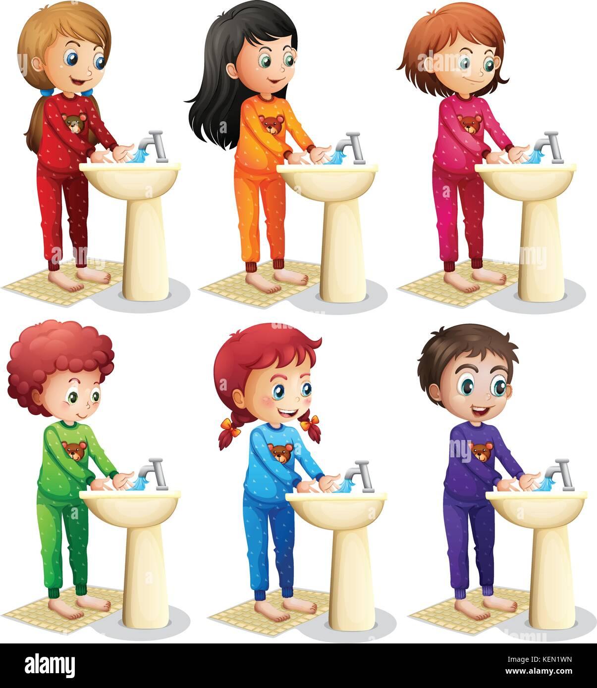 Bathroom Fitters Glasgow >> School Washroom Stock Photos & School Washroom Stock Images - Alamy
