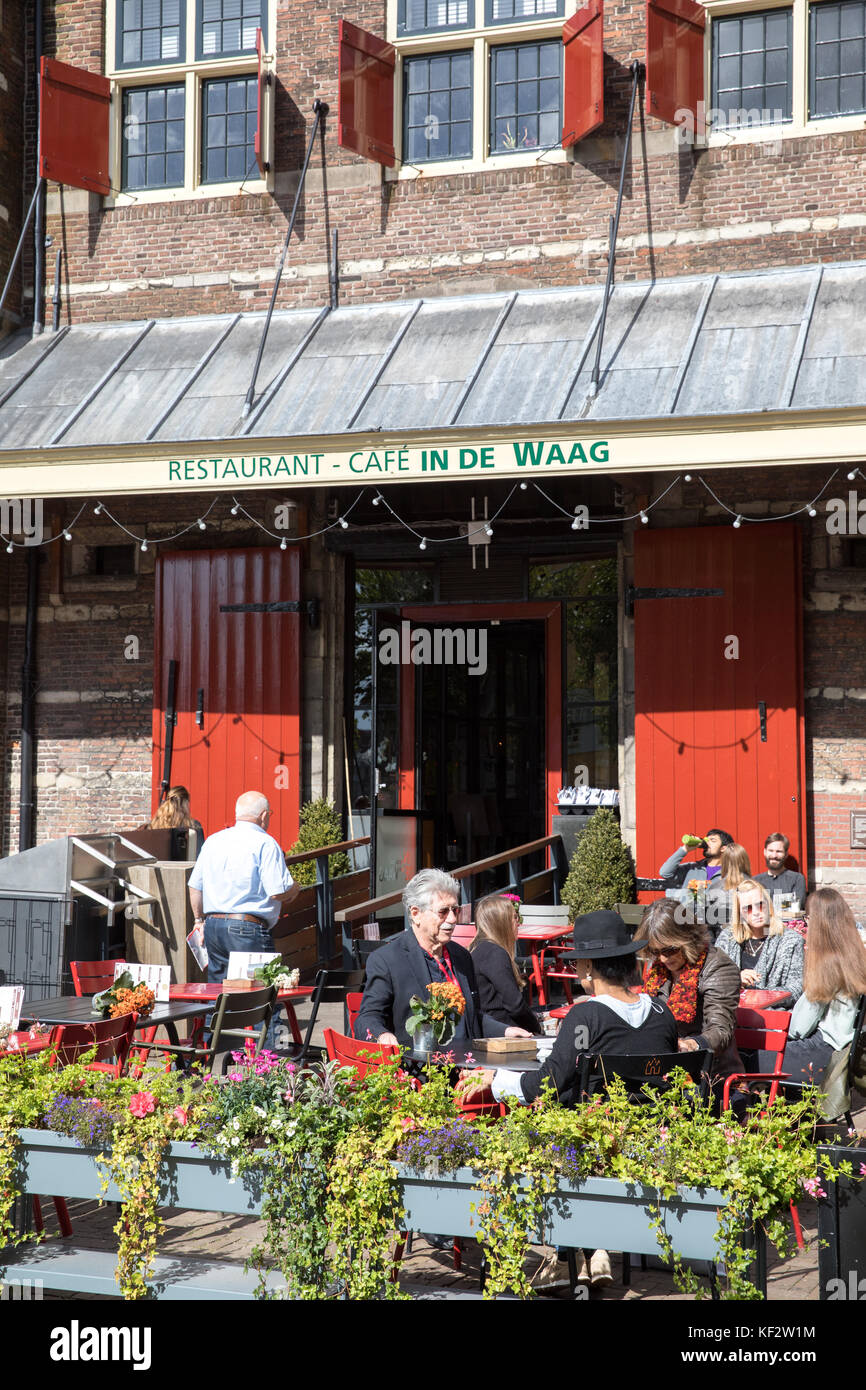 Cafe In De Waag Amsterdam