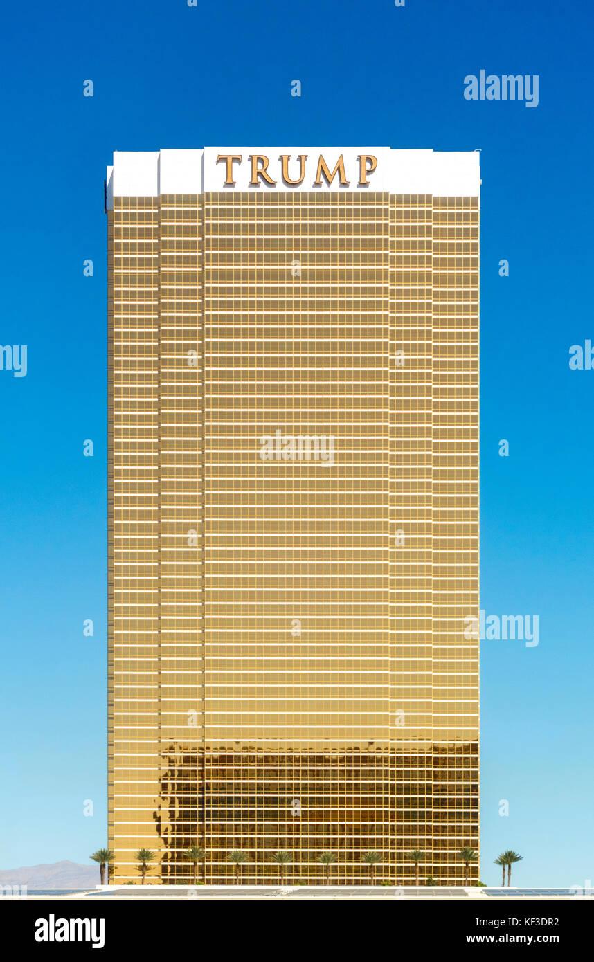 Trump International Hotel Las Vegas - Stock Image