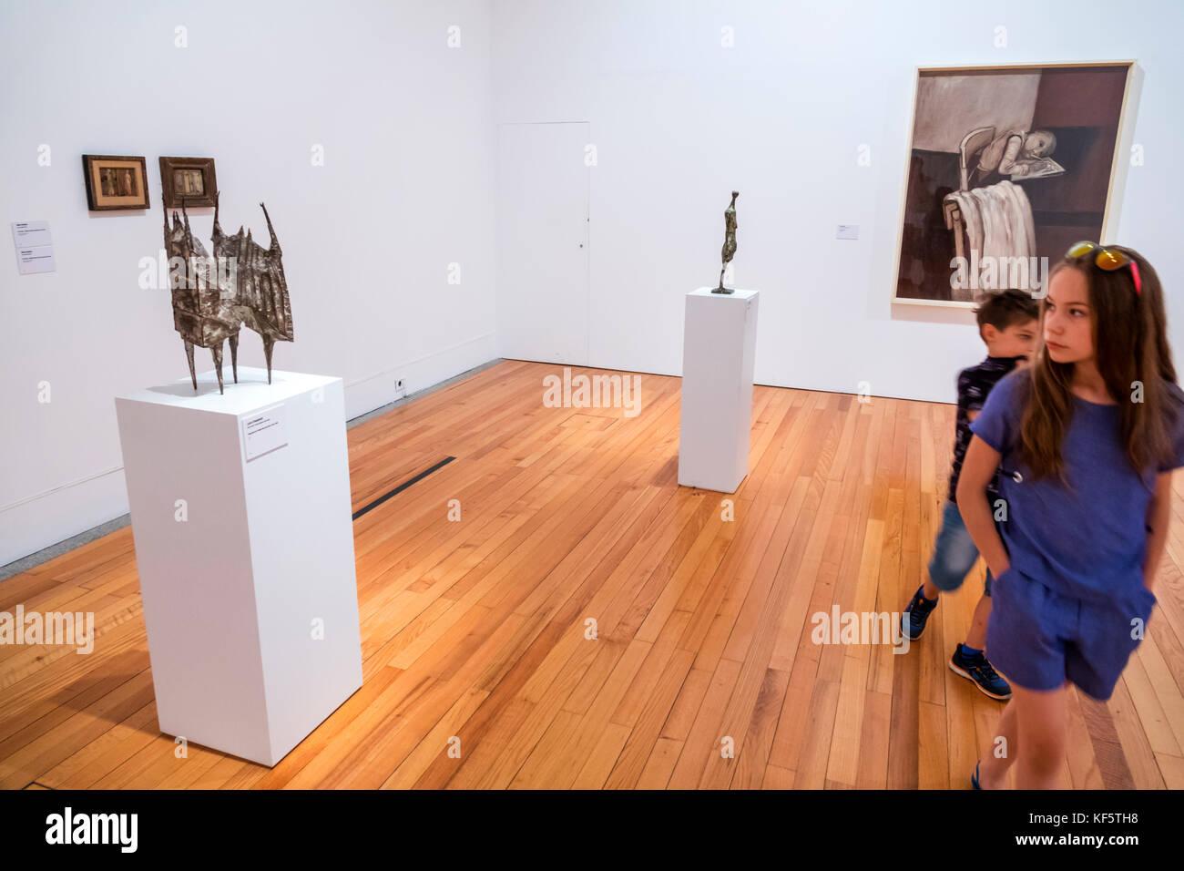 Lisbon Portugal Belem Centro Cultural de Belem Museu Colecao Berardo Berardo Collection contemporary modern art - Stock Image