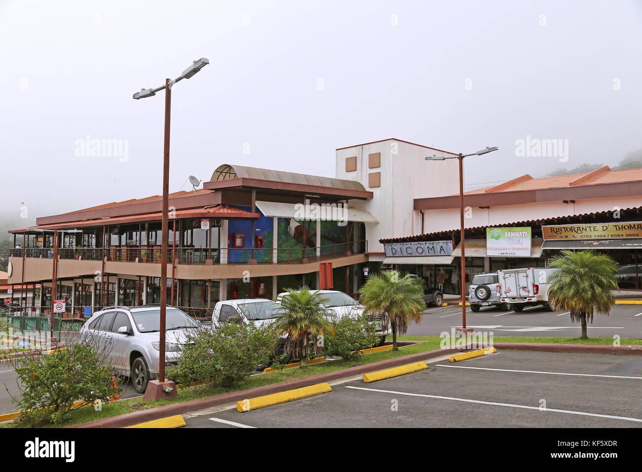 Town centre shops costa stock photos town centre shops for Clinica santa elena torremolinos