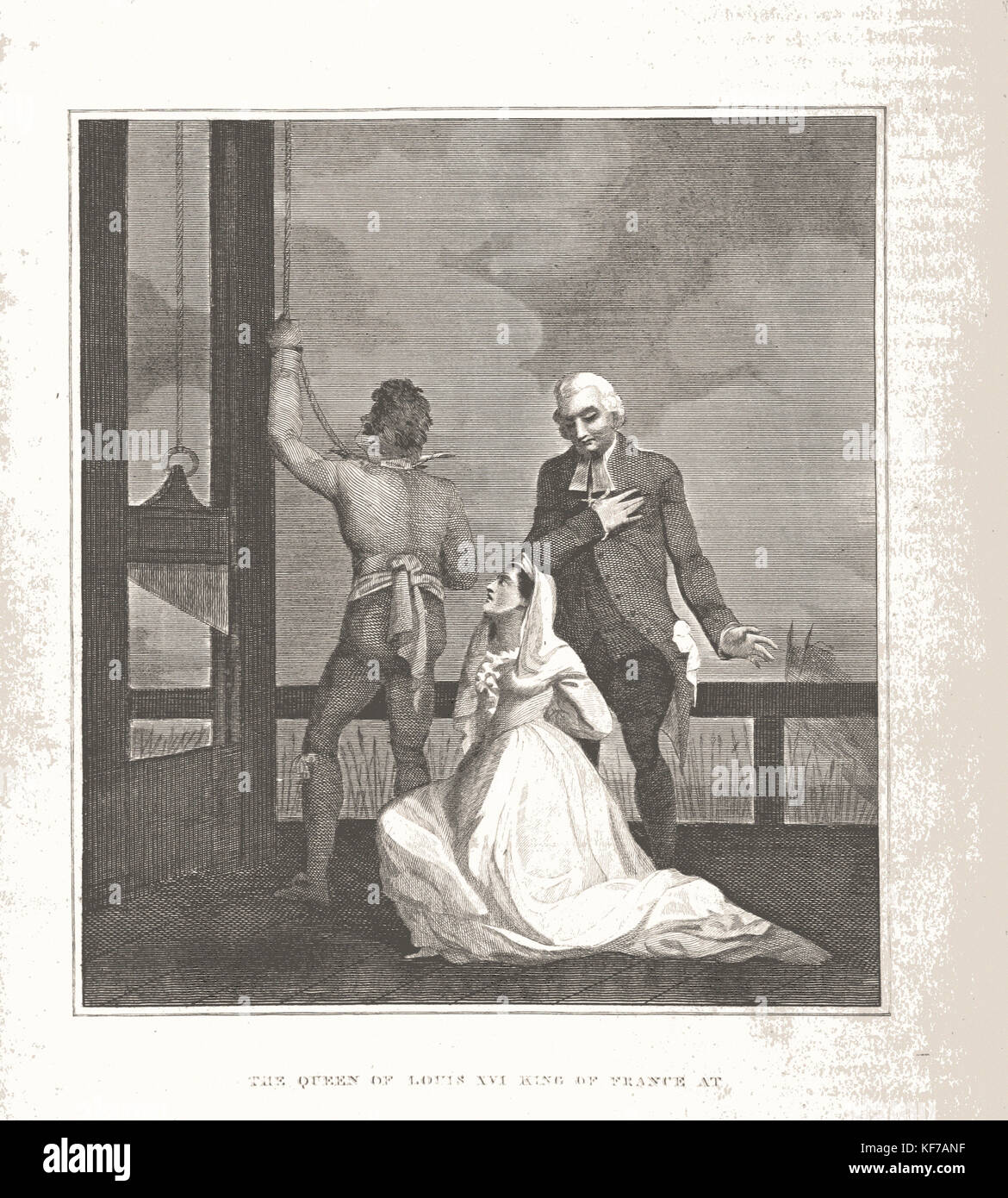 What Happened to Marie Antoinette s Children? Mental Floss Pictures of marie antoinette beheaded