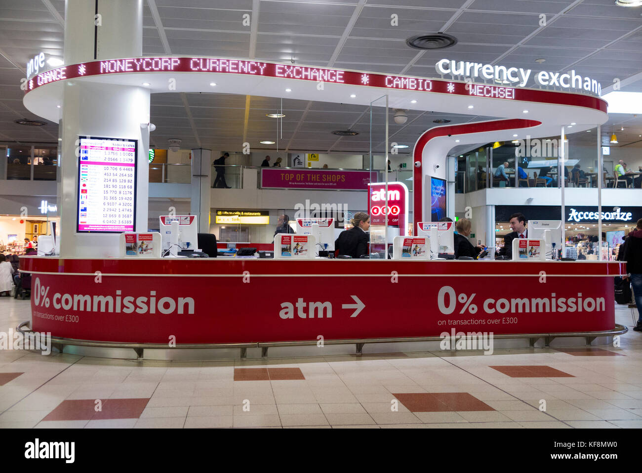 money exchange airport stock photos money exchange airport stock images alamy. Black Bedroom Furniture Sets. Home Design Ideas