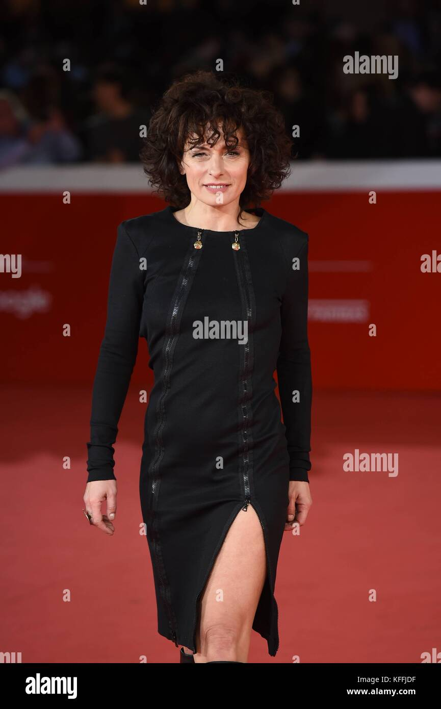 Rome, Italy. 28th Oct, 2017. Rome Cinema Fest 2017. Rome Film Festival. Red Carpet film 'Stronger'. Pictured: - Stock Image