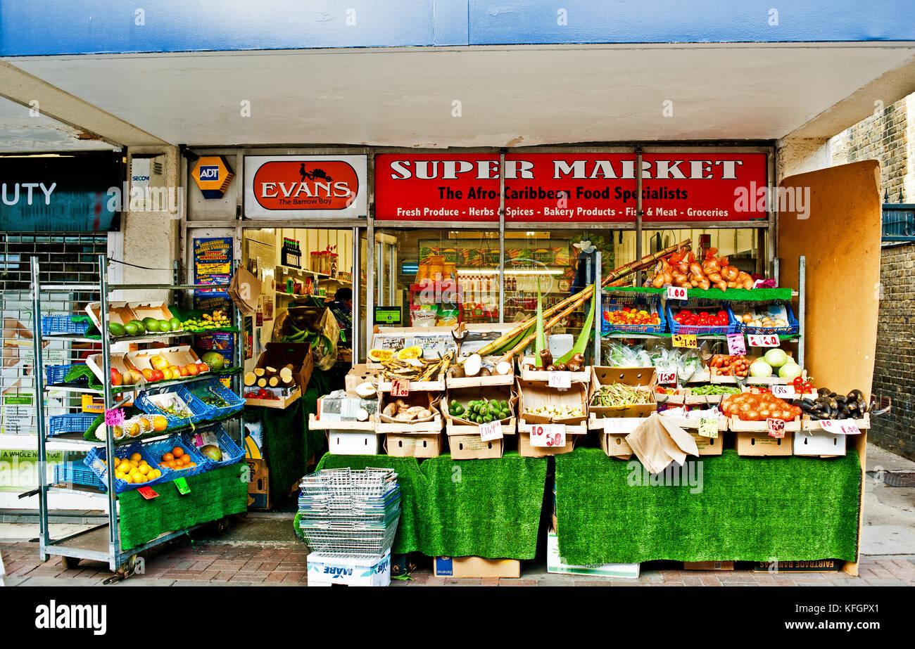 Afro Caribbean Food Store London