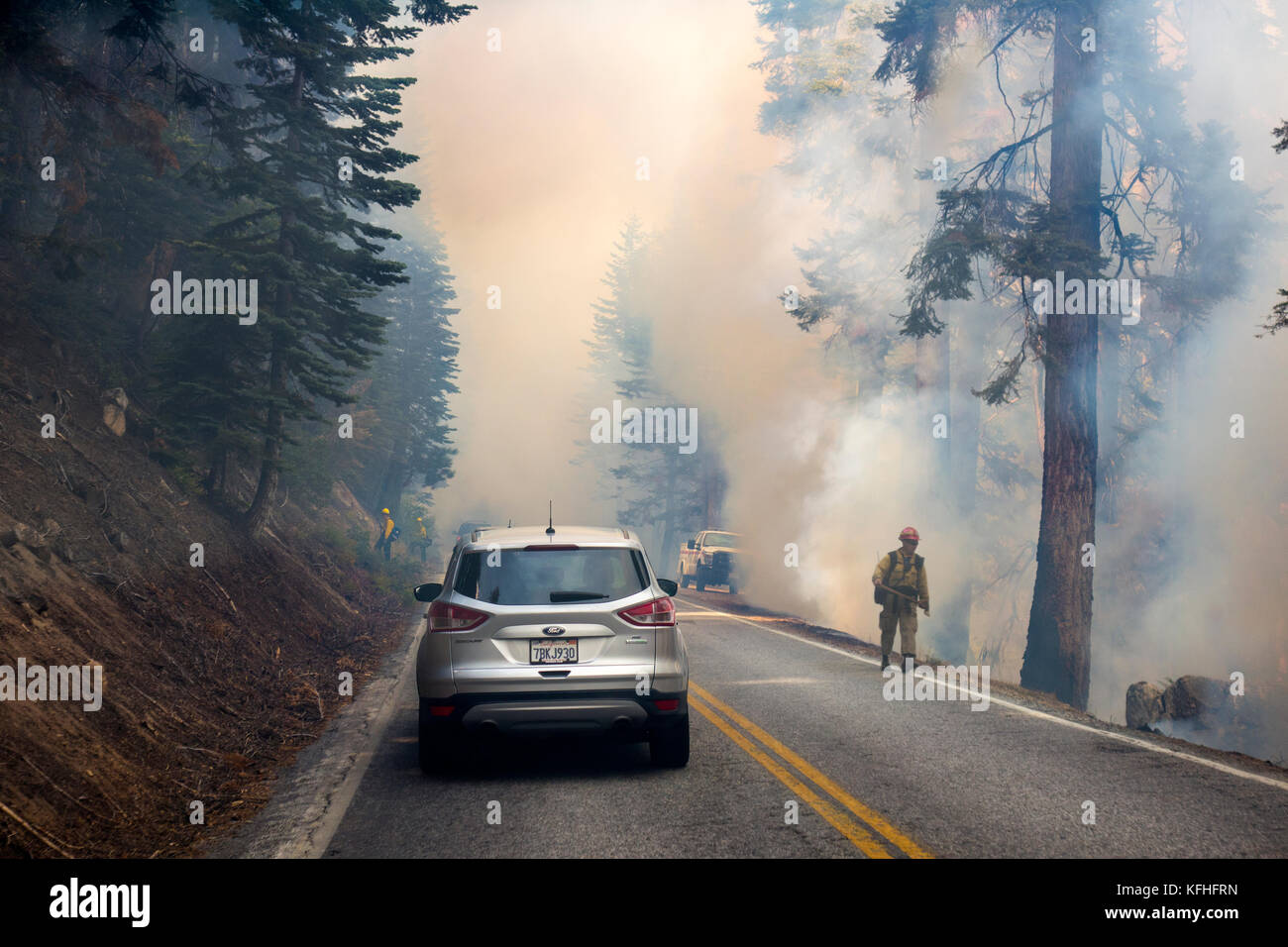 http://c7.alamy.com/comp/KFHFRN/driving-through-forest-fire-in-yosemite-national-park-KFHFRN.jpg